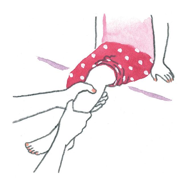 子どもの不調におすすめ健康法。「足首くるくる」自宅で出来る簡単ケア
