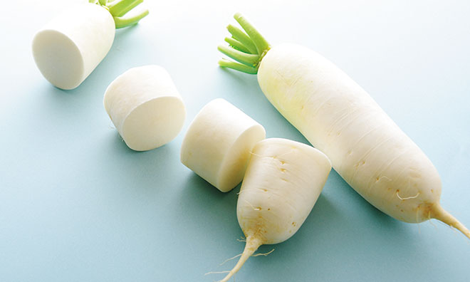 【大根の味噌汁】大根の切り方は「大根おろし」が消化を助ける!