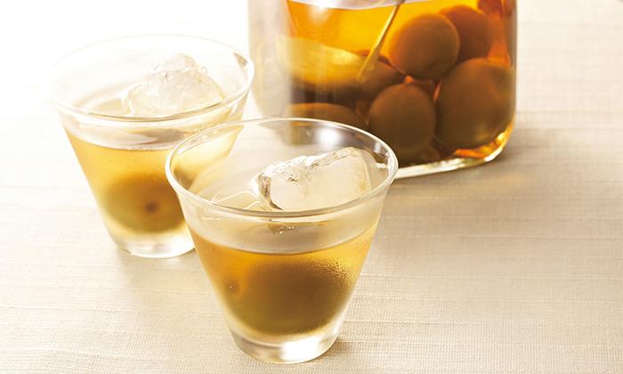 ほんのり甘く後味がさわやかな梅酒