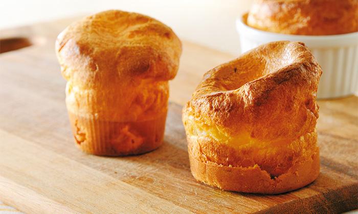 手作り時短パン!混ぜて焼くだけのポップオーバー