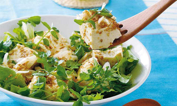 木綿豆腐のおいしい食べ方。豆腐のマリネ