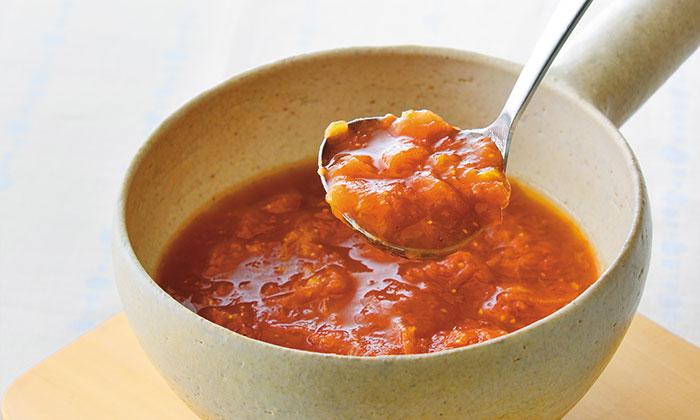 トマトを土鍋で料理。土鍋でつくるトマトソースの簡単レシピ