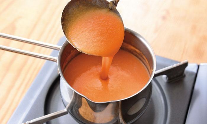 夏に人気の「トマトの冷製スープ」簡単レシピ