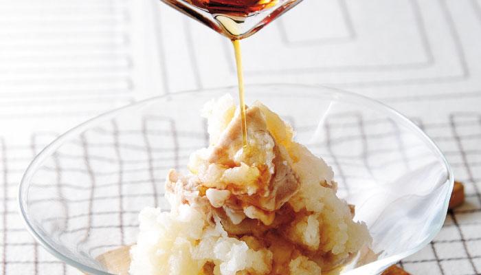 梨を使った豚しゃぶ料理「豚しゃぶみぞれ梨」の作り方