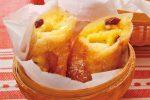 「りんごとカスタードの揚げ春巻き」レシピ