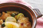 「鶏モモ肉とレーズンのヴィネガーブレゼ」はクリスマスパーティにオススメのチキンのレシピ