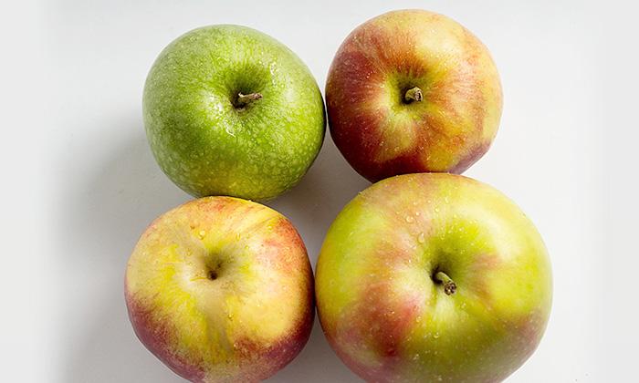 りんごとみかんの出荷量 -果物戦国時代-