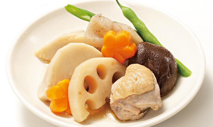 正月の手作りおせち料理レシピ「根菜たっぷりの煮しめ」