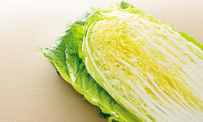 「白菜」は冬の万能野菜。鍋料理に最適な水溶性ビタミンC。
