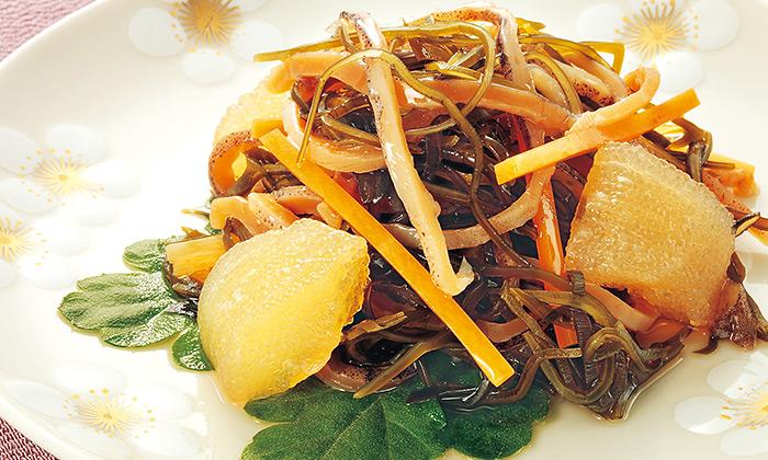 正月の手作りおせち料理レシピ「松前漬け」
