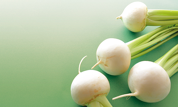 「かぶ」はカロテンやビタミンCなどの栄養がたっぷりの冬野菜