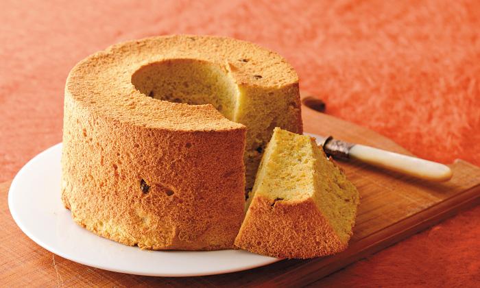 にんじんを使ったお菓子「キャロットスパイスシフォンケーキ」レシピ