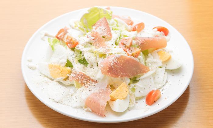 ミニトマトと三浦大根、生ハムのサラダのレシピ