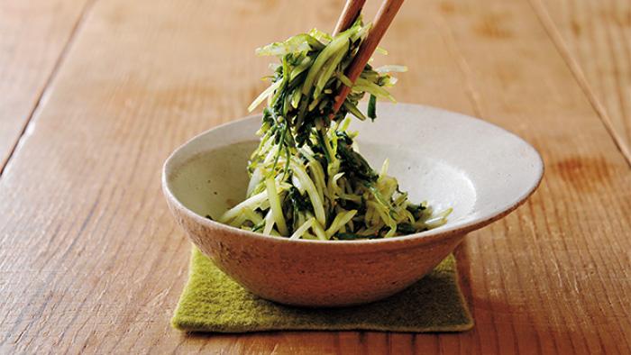 時短にもおすすめ!「水菜のナムル」レシピ