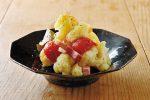 旬のカリフラワーとベーコンの蒸し煮のレシピ