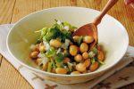 「和える大豆と新玉ねぎのサラダ」のレシピ