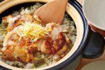 長ねぎと鶏肉の炊き込みご飯の作り方(レシピ)