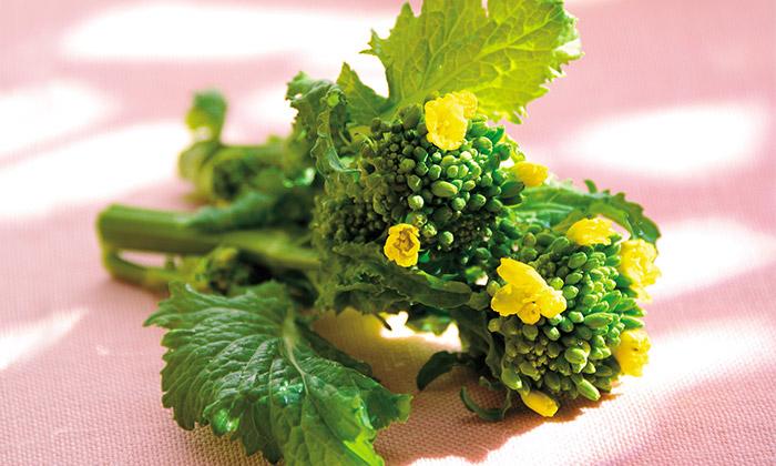 春野菜「菜花」の調理方法