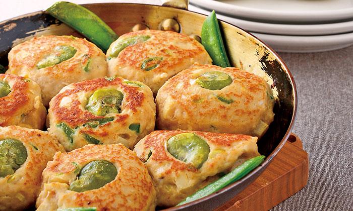 豆とたけのこがゴロゴロ!「豆まめ鶏だんご」のレシピ