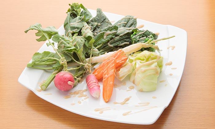 野菜を使った和風バーニャカウダのレシピ(作り方)