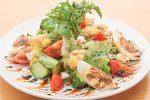 彩り野菜とクリームチーズのメリメロサラダのレシピ(作り方)