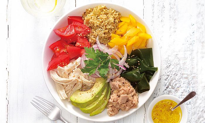 パワーサラダで必要な栄養素がたくさん摂れる!野菜メインの食事を手軽に