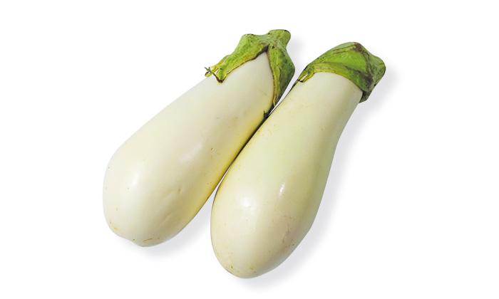 【楽しくておいしい珍しい野菜】群馬県の「白なす」