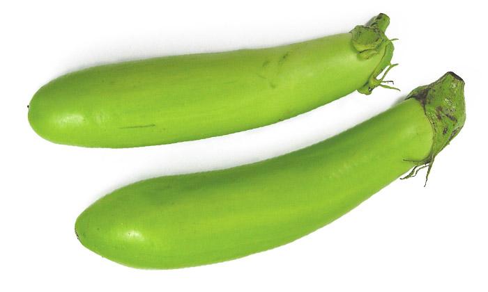 【珍しくておいしい野菜】薩摩白なす(青なす)とは