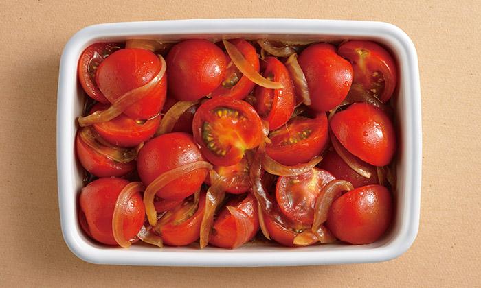 【常備菜・大量消費】ミディトマトのバルサミコ酢マリネの簡単レシピ(作り方)