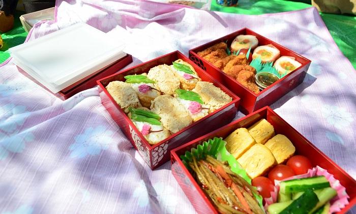 花見を楽しむための花見弁当!和食・洋食・中華の料理レシピを紹介!