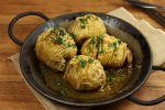 【とにかく簡単】カレー風味のハッセルバックポテト