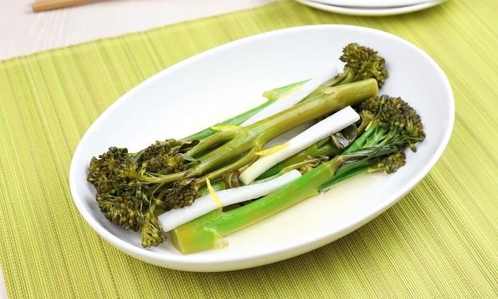【とにかく簡単】スティックブロッコリーのゆず風味ピクルス