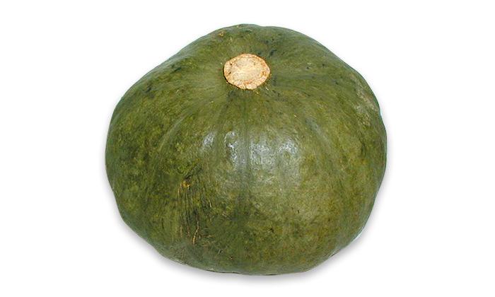 【珍しくておいしい野菜】芳香青皮甘栗南瓜(ほうこう あおかわ あまぐり かぼちゃ)は自家採種ができる貴重な品種