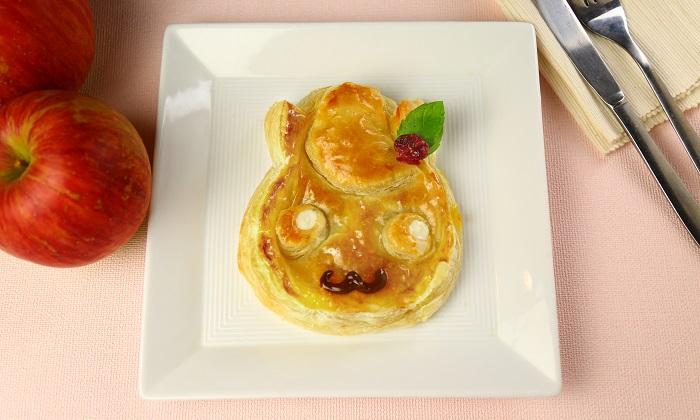【とにかく簡単】お子さんが喜ぶ!かわいい「アップルポテトパイ」