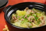 【とにかく簡単】「キャベツと豚肉のニンニク味噌鍋」