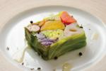 季節の味が詰まった「冬野菜のゼリー寄せ」